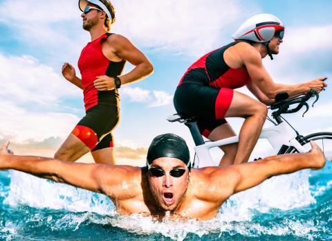 La importancia del pie en el triatlón